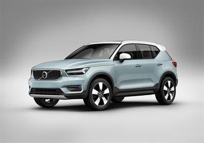 Volvo Cars laajentaa XC40-mallin tuotantoa runsaan kysynnän vuoksi