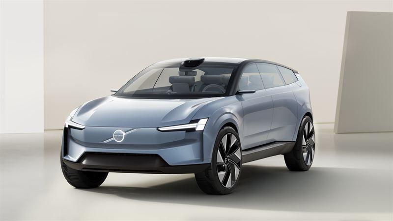 Volvo Concept Recharge esittelee Volvo Carsin täyssähköistä tulevaisuutta