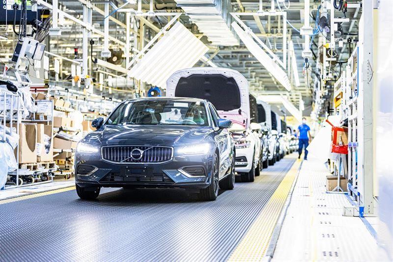 Volvo Carsin Daqingin tehdas toimii 100-prosenttisesti ilmastoneutraalilla sähköllä