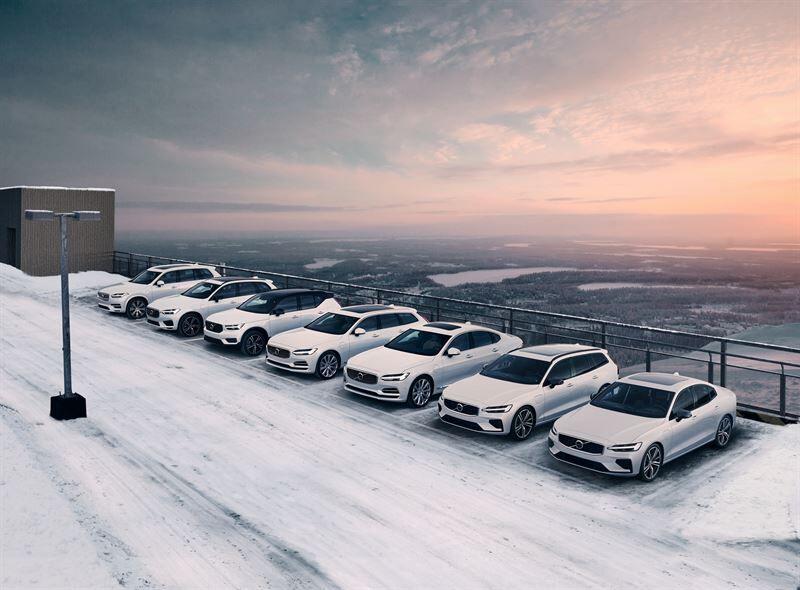 Uusi sähköinen mallisto: Volvo saavutti ennätyksellisen markkinaosuuden