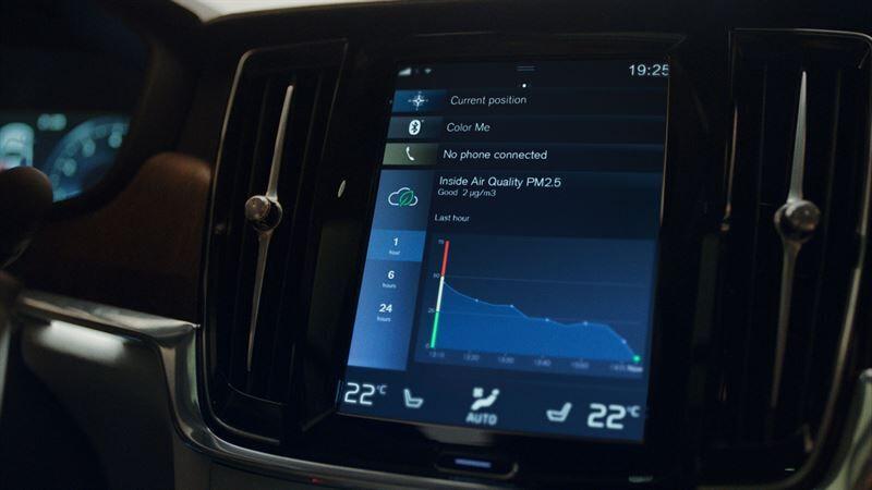 Innovatiivinen ilmanlaatuteknologia varmistaa puhtaan sisäilman uusissa Volvoissa