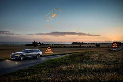 Volvo Cars mukana Euroopan laajuisessa turvallisuustietojen jakamista koskevassa pilottihankkeessa