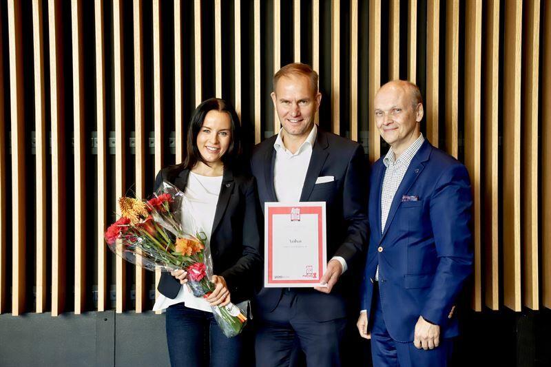 Volvo tarjoaa Suomen parasta asiakaspalvelua