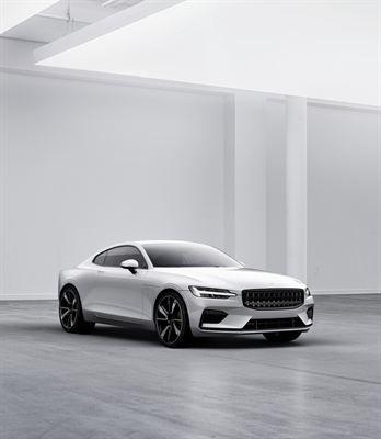 Polestar esittelee uuden Polestar 1 –mallin ja tulevaisuuttaan uutena urheilullisten sähköautojen merkkinä