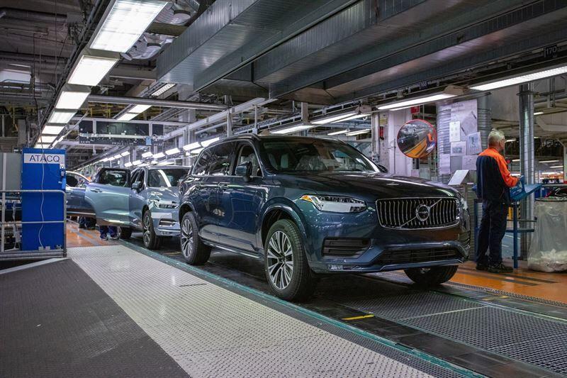 Volvo Carsin Torslandan-tehtaasta yhtiön ensimmäinen ilmastoneutraali autotehdas