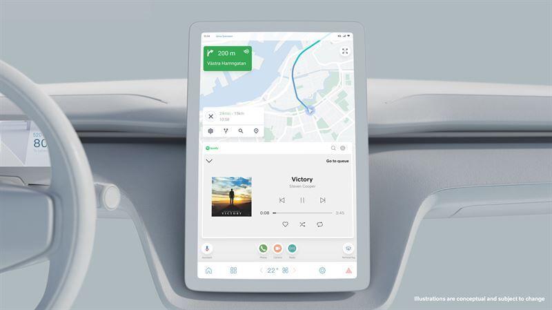 Volvo Cars ja Google jatkavat yhteistyötään seuraavan sukupolven turvallisen ja yhdistetyn käyttökokemuksen luomiseksi