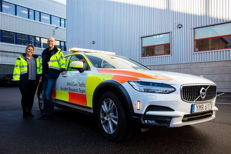 Puoli vuosisataa turvallisuuden puolesta: Volvon onnettomuustutkimustyöryhmä täyttää 50 vuotta