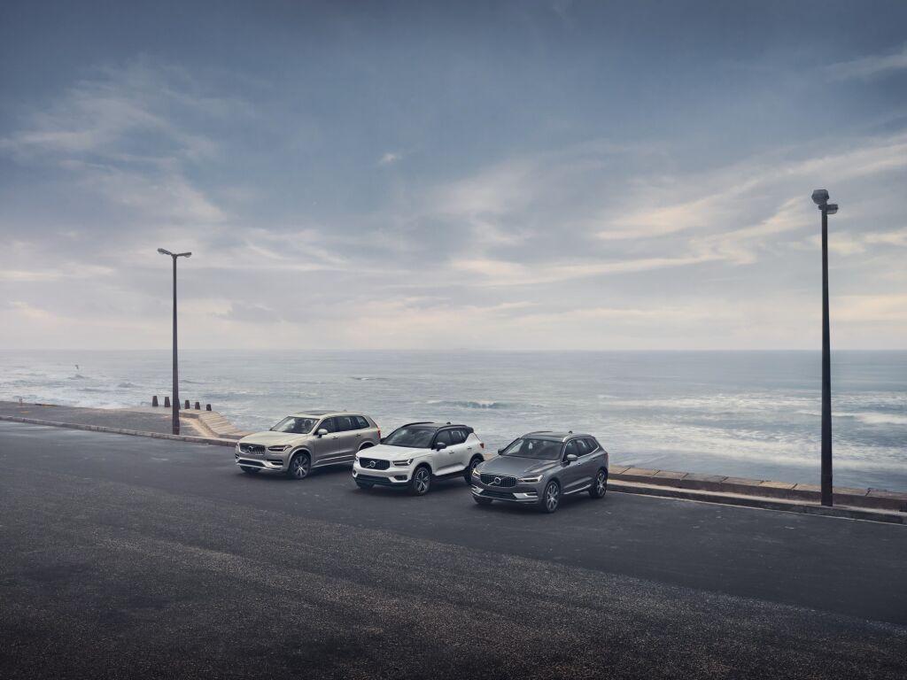 Volvo jatkaa lataushybridien ja nelivetoisten markkinajohtajana Suomessa
