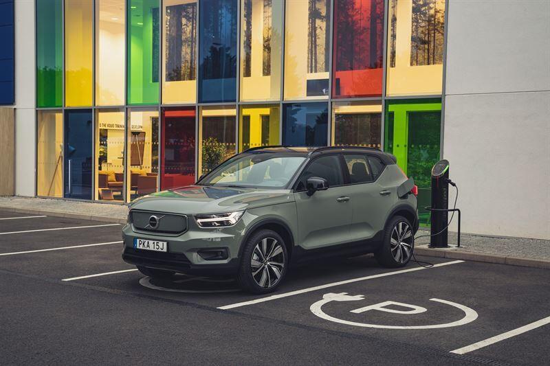 Volvo Cars täysin sähköiseksi vuoteen 2030 mennessä