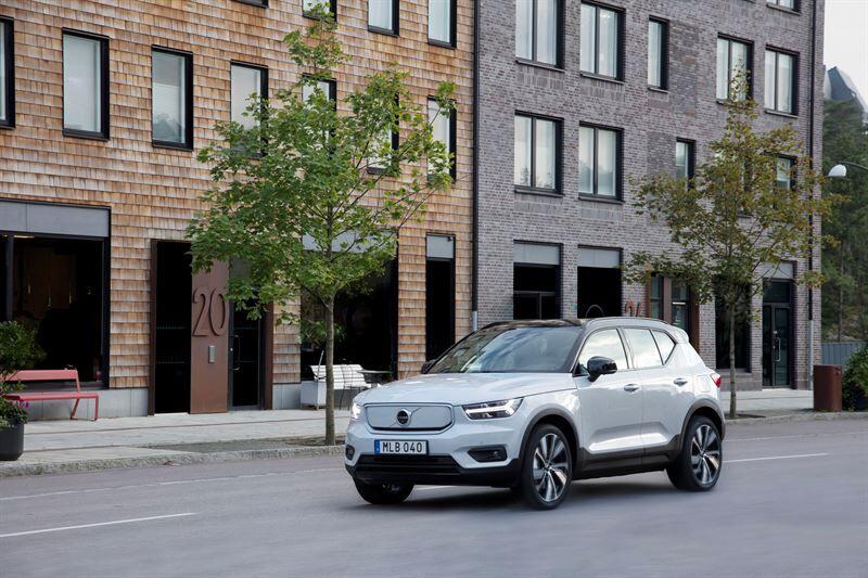 Volvo Cars sai EcoVadisin korkeimman arvosanan kestävästä kehityksestä